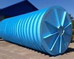 Противопожарный подземный резервуар на 60 кубов производство AlePlast